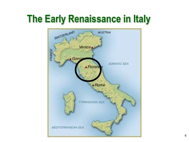 an analysis of the renaissance which began in italy in 1300s Where did the renaissance begin in the mid-1300s the renaissance began in italy the renaissance was a cultural change in europe beginning in the 1300s.