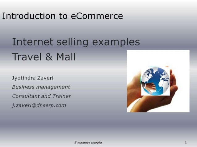 eCommerce eMarketing Introduction - case study Travel and Mall