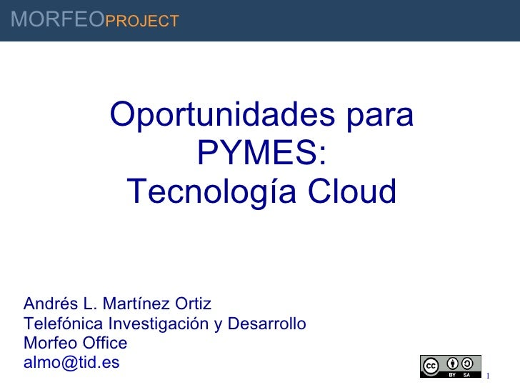 Economic Impact For Sm Es Of Cloud Technologies