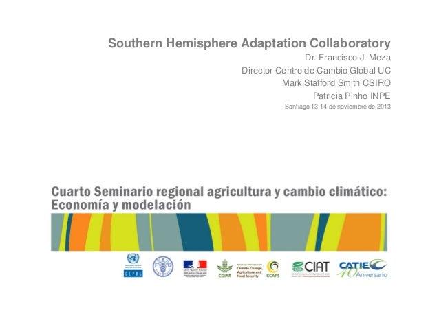 IV Seminario Regional de Agricultura y Cambio Climático - Francisco Meza