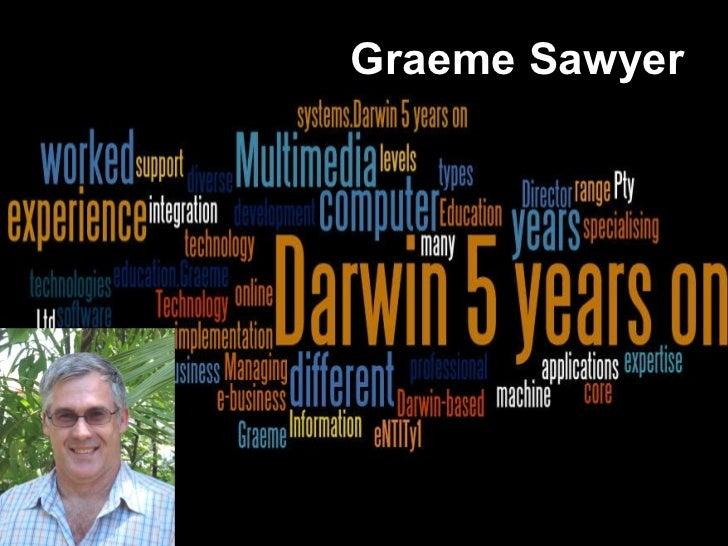 E-maginarium - Darwin 5 years - Graeme Sawyer