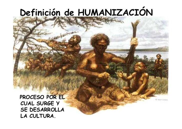 Resultado de imagen de La Humanidad está aún, en proceso de humanización