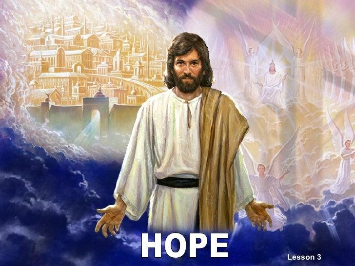 HOPE Lesson 3