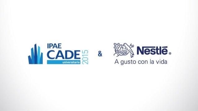 Se)',  ' A — ÉAÁDE 2 3.  Nestle® É universitario (¡  A gusto con Ia vida