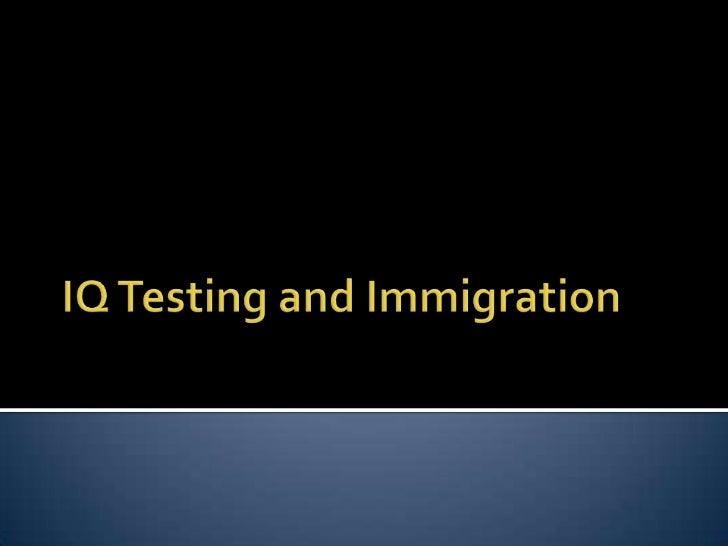 03 iq and immigration