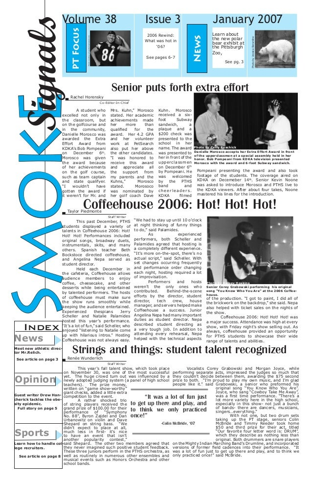 Jan. 2007 Smoke Signals Issue 3