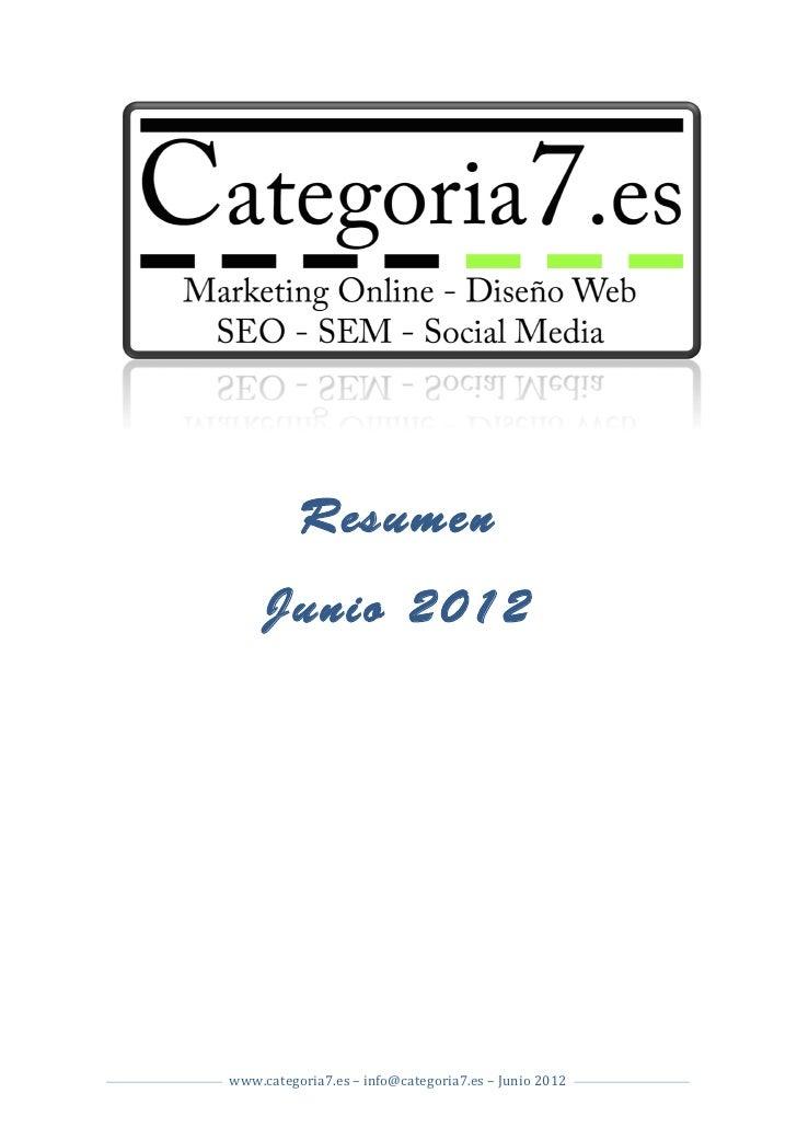 Resumen             Junio 2012                                                           ...