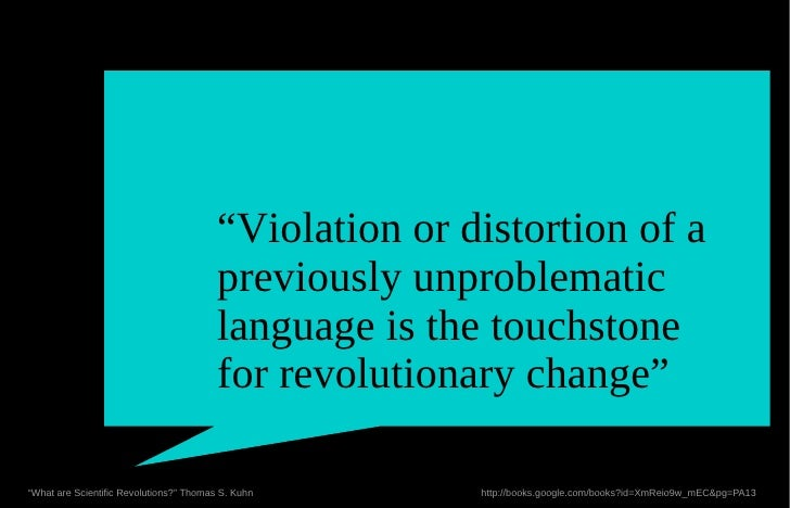 """""""Violation or distortion of a                                         previously unproblematic                            ..."""