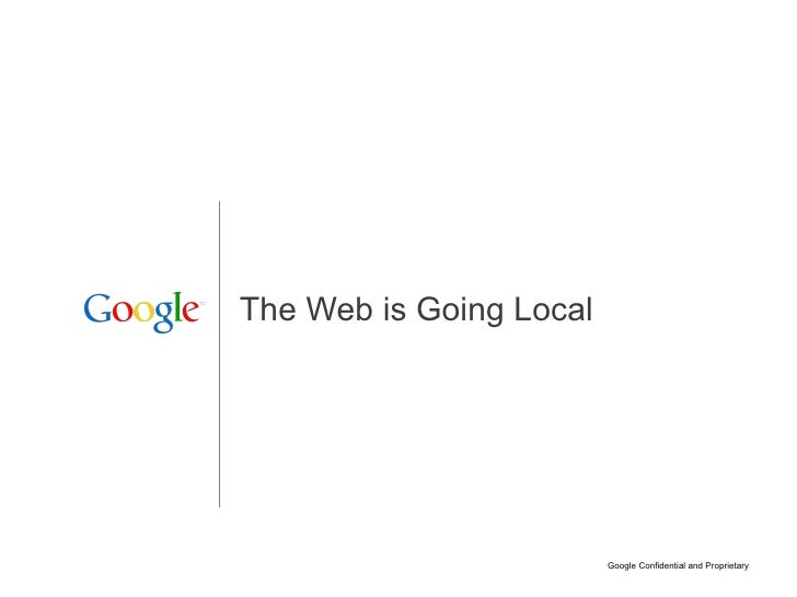 The Web is Going Local