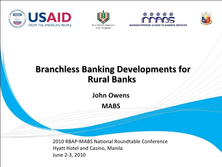 MABS: Branchless Banking Updates