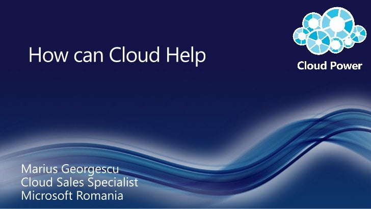 Benefits of the cloud for Government
