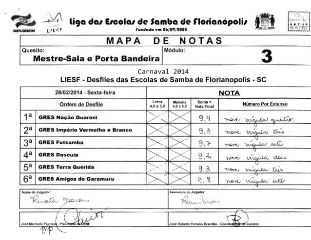 "-i4  li9a da1 E1cola1 de Samba de r1orianOpoli1  l ( f"" < f  SANTA CATARINA  SETUR SCCRCTAHlA  MUNICirAl OF TtJR!'SMO  run..."