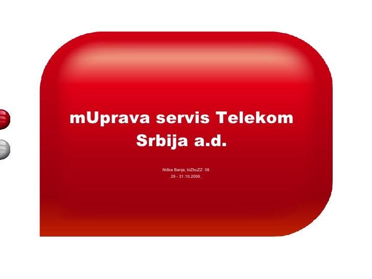Mirjana Ivković - mGovernment servis