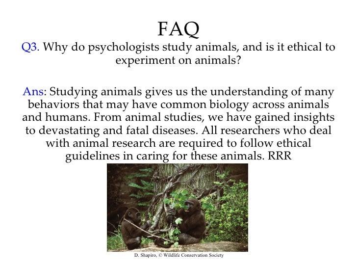Wildlife Biology human ethics usyd