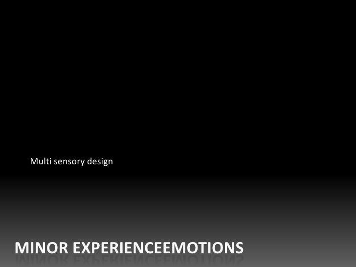 03 multi sensory design