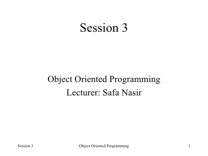 03 objects and classes   in java