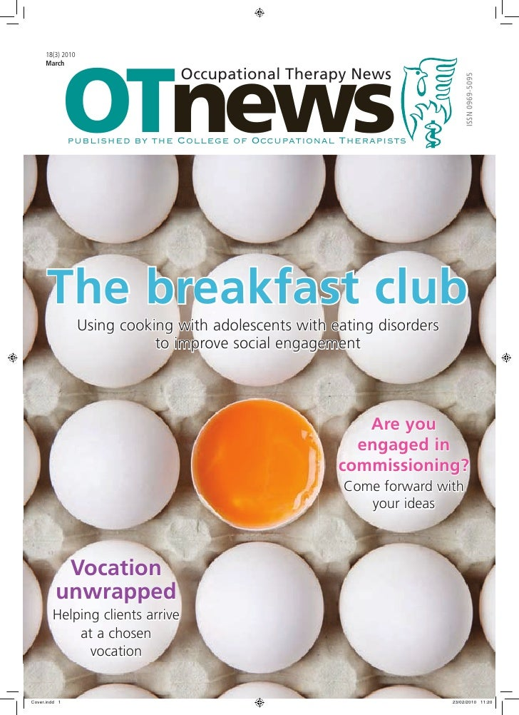 OTnews      18(3) 2010      March                                  Occupational Therapy News                              ...