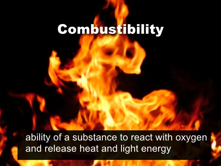 Non Flammable Physical Or Chemical Property