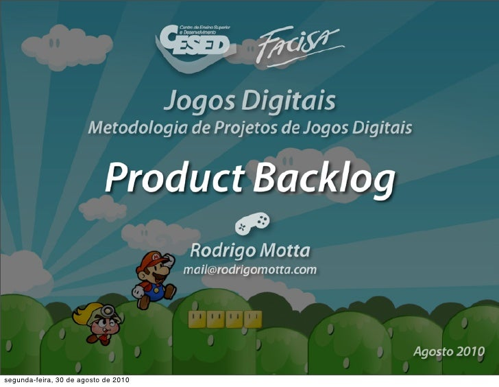 Scrum: Product Backlog