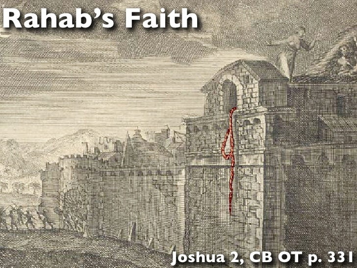Rahab's Faith