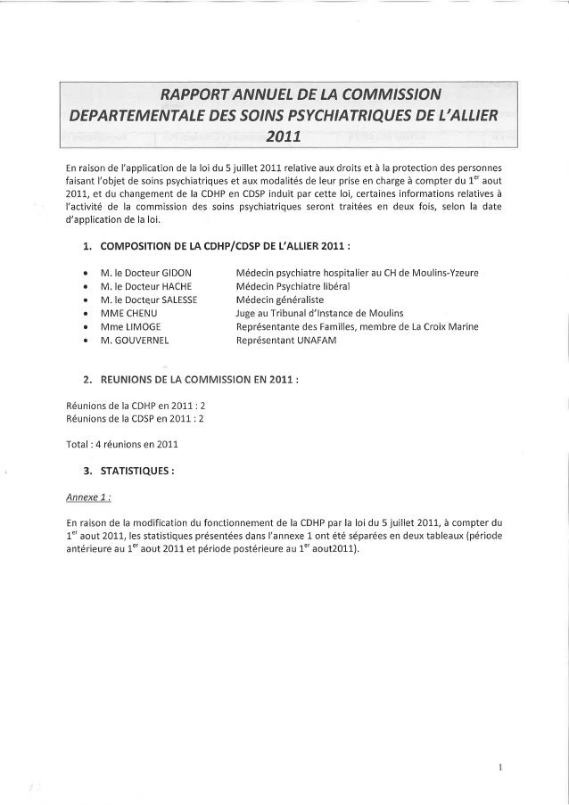 03 rapport activité cdsp 2011