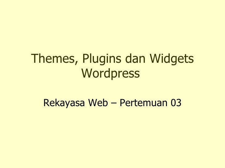 03.Rekayasa Web