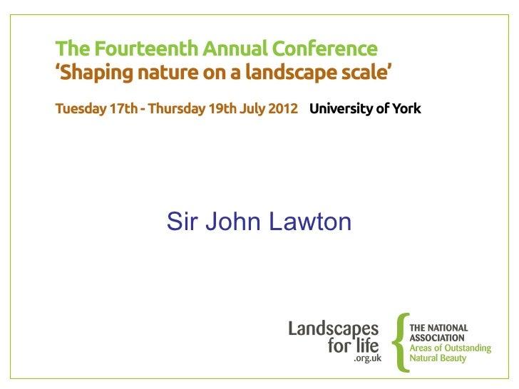 Sir John Lawton
