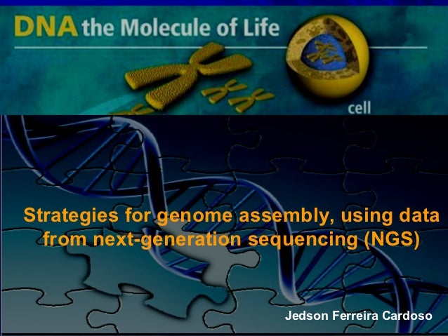 Strategies for genome assembly, using data  from next-generation sequencing (NGS)                          Jedson Ferreira...