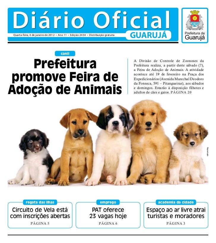 Diário Oficial de Guarujá - 04-01-12