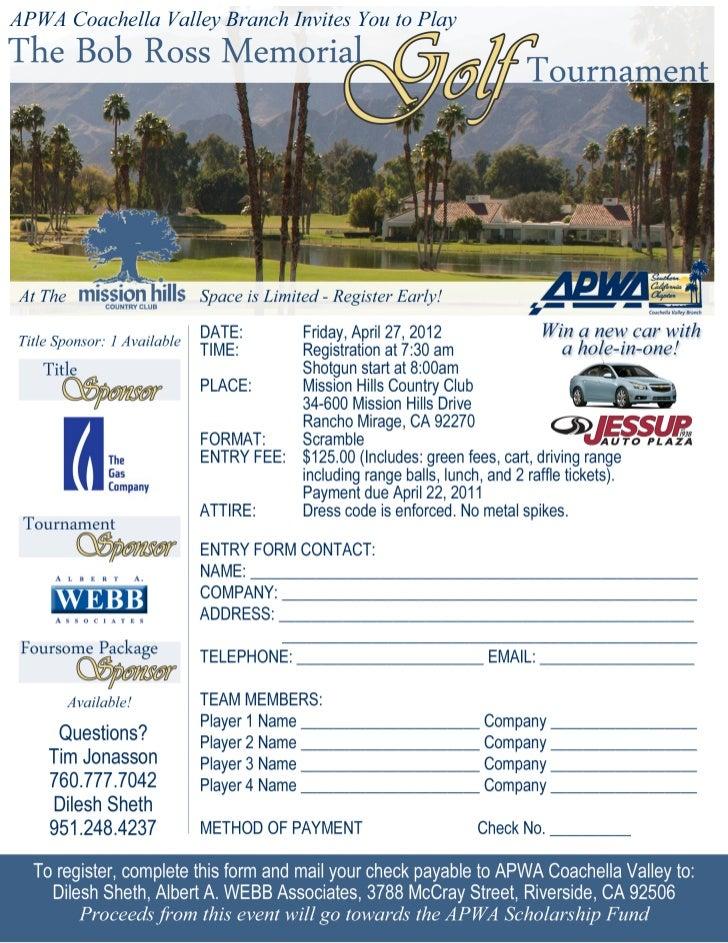 04.27.12 Bob Ross Memorial Golf Tournament-Apwa CV