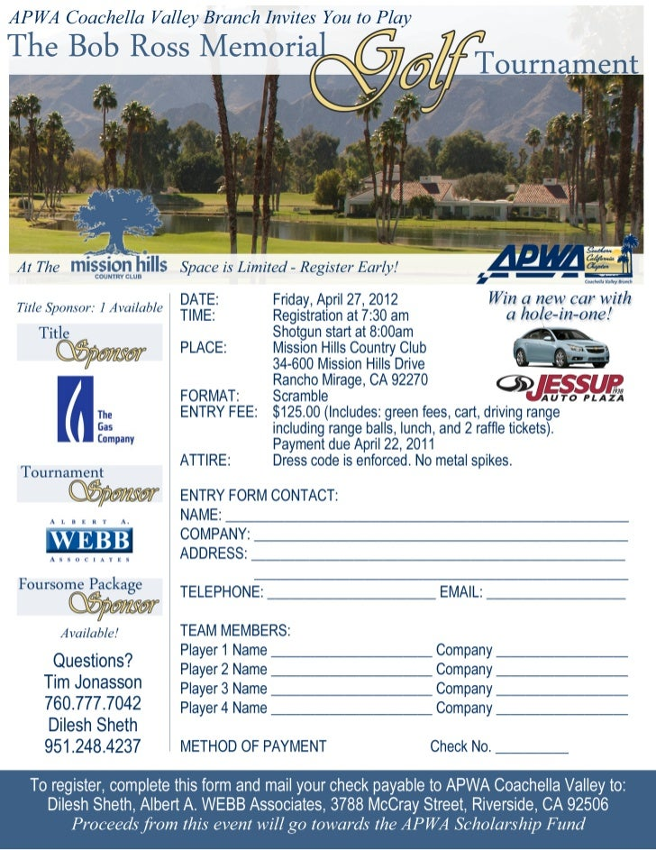 APWA Bob Ross Memorial Golf Tournament_04.27.12
