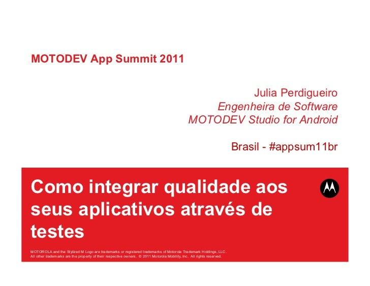 MOTODEV App Summit 2011                                                                                                   ...