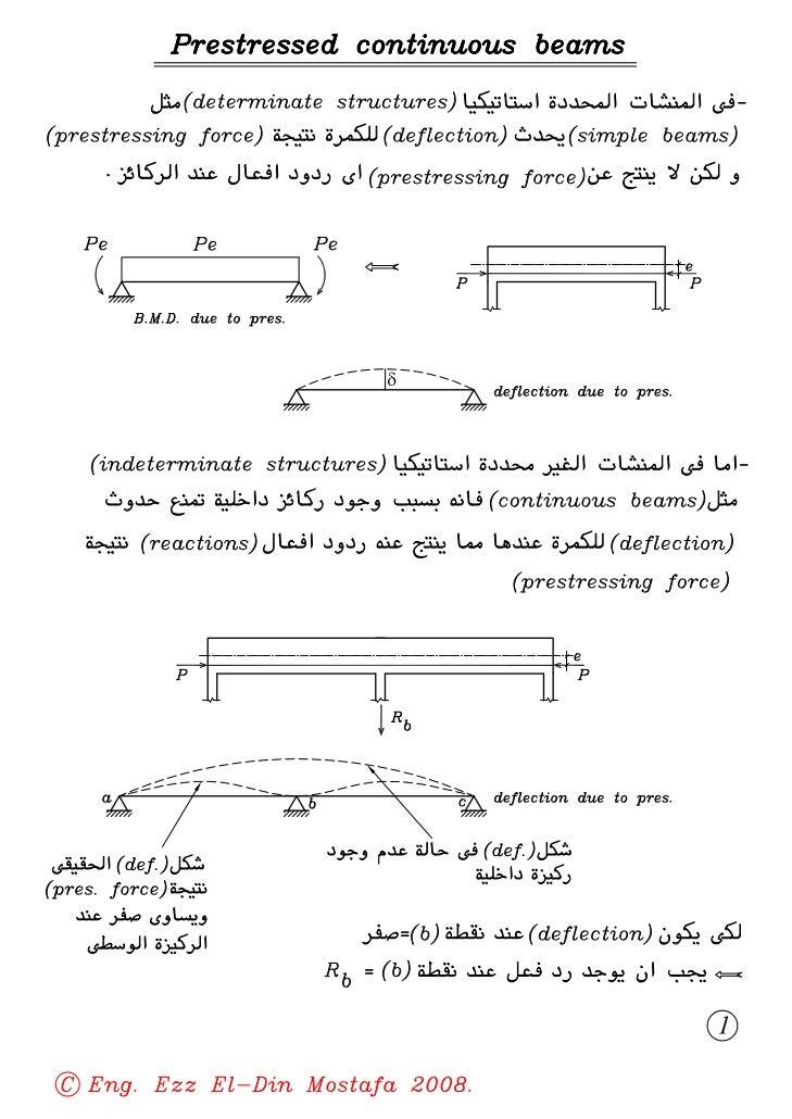 04  (4th civil) (prestressed concrete) indeterminate prestressed structures