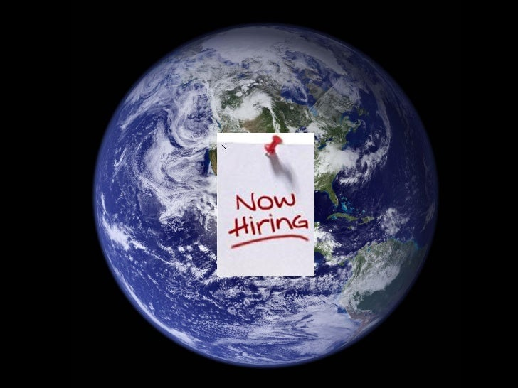 APSS Pecha Kucha - The Earth is Hiring