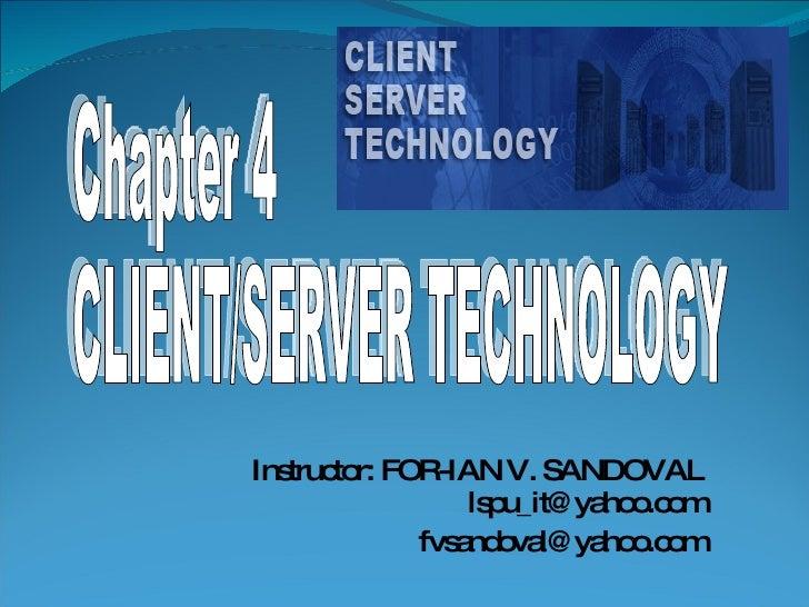 04 Client Server Technology