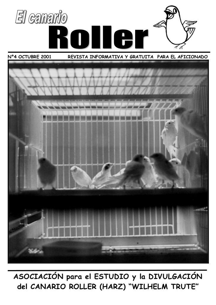 Nº4 OCTUBRE 2001   REVISTA INFORMATIVA Y GRATUITA PARA EL AFICIONADO  ASOCIACIÓN para el ESTUDIO y la DIVULGACIÓN   del CA...