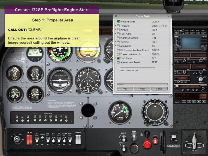 Ground Operations: Engine Start