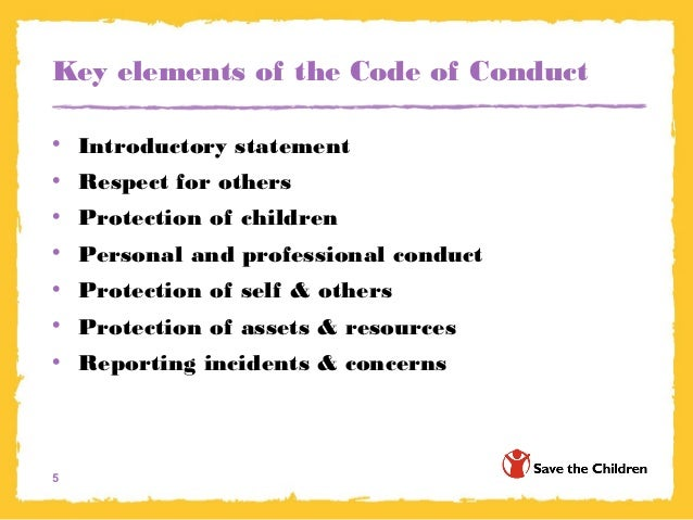 Accountants Code Of Conduct