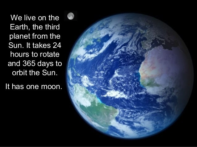 sun and moon orbit the earth in our solar system of - photo #44