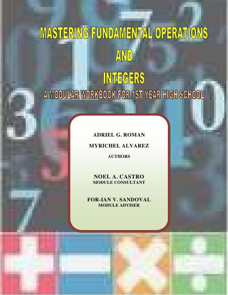 -1352550-1310005<br />ADRIEL G. ROMANMYRICHEL ALVAREZAUTHORSNOEL A. CASTROMODULE CONSULTANTFOR-IAN V. SANDOVALMODULE ADVIS...