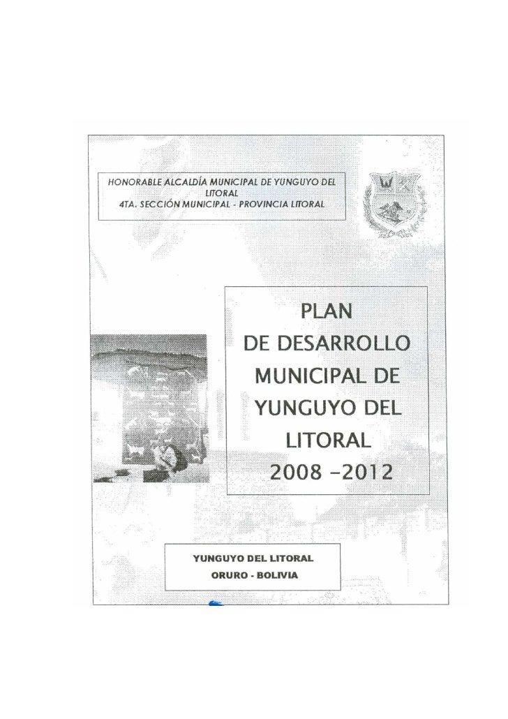 PDM Yunguyo del Litoral