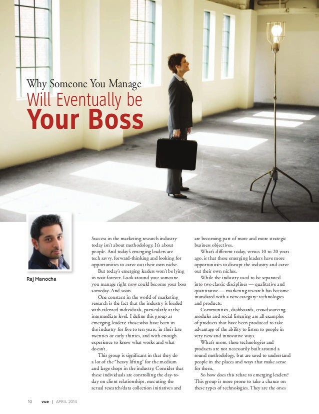 Why Someone You Manage will Eventually be Your Boss