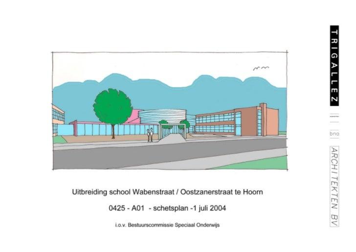 InleidingDe locatie aan de Wabenstraat / Van Oostzanenstraat wordt kenmerkt door een viertal gebouwen, waarvan twee bijna ...