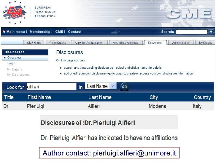 Author contact: pierluigi.alfieri@unimore.it