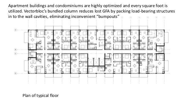 Vectorbloc presentation online feb 2015 for Apartment structural plans
