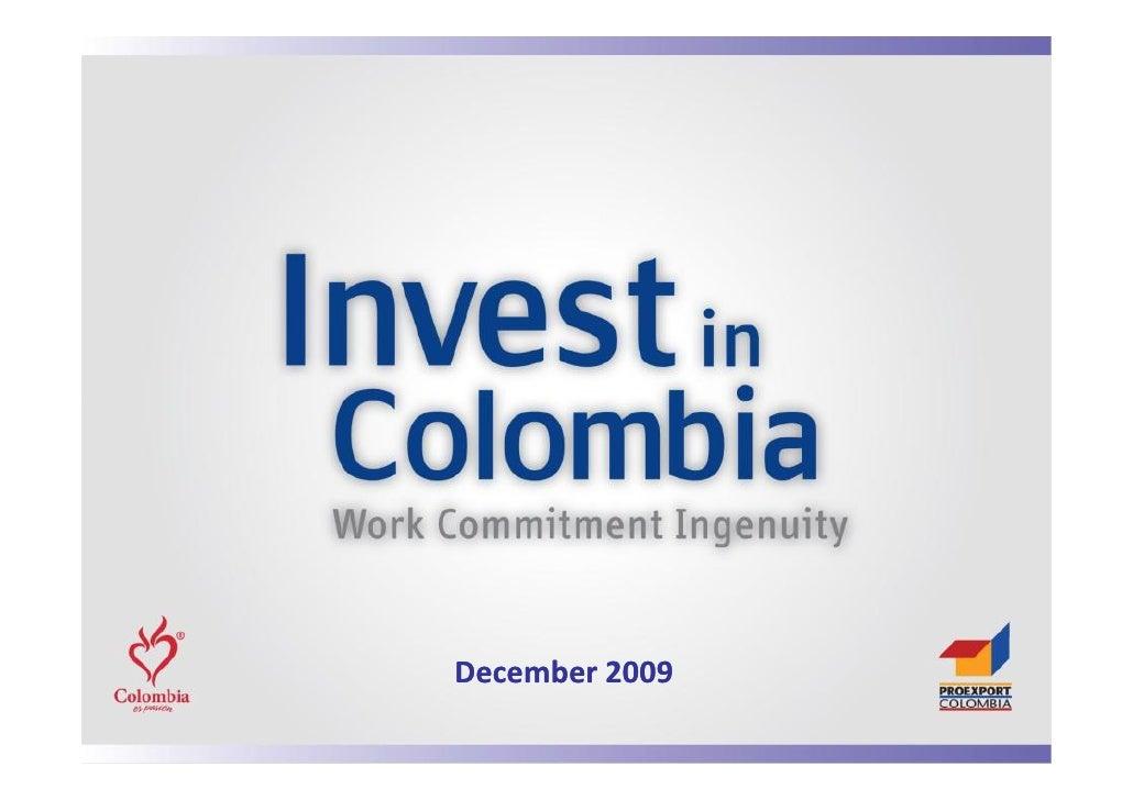 045 Presentacion%20 Colombia%20 December%202009%20(Ingles)