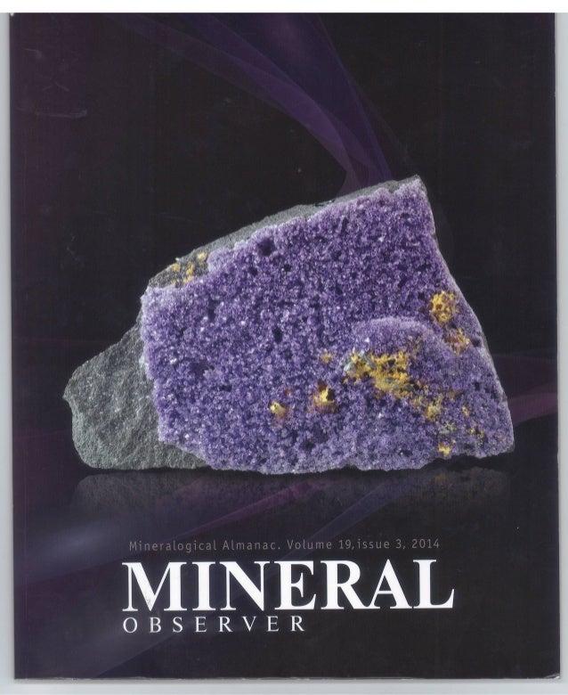 Mineral Observer 2014