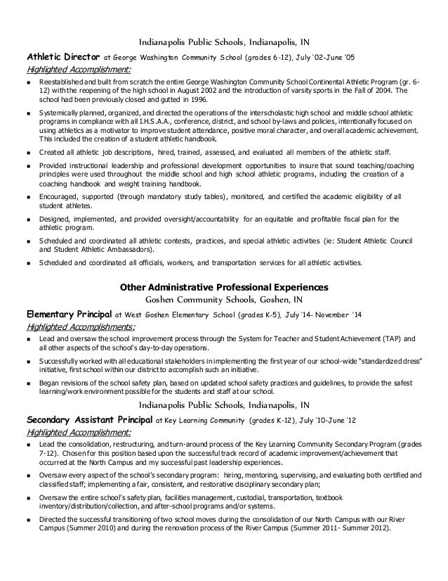 cinninger ad administrative resume june 2015 with