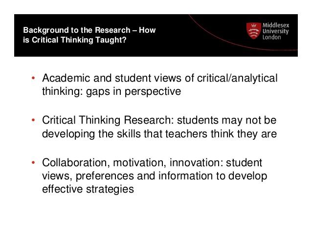 Critical Thinking in Nursing Essay