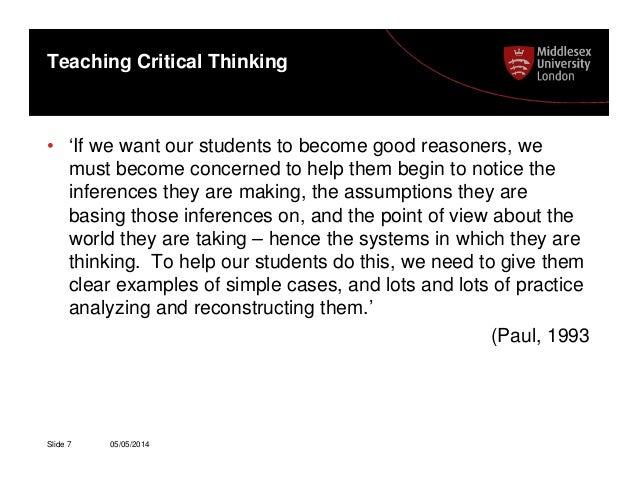 7 critical thinking skills for nurses